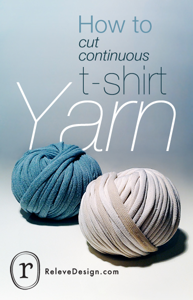 How To Cut And Design At Shirt | How To Cut Continuous T Shirt Yarn Releve Design