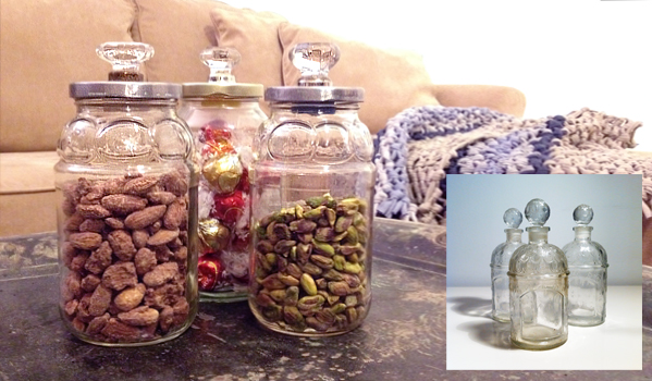 how to make jars with decorative lids relevé design