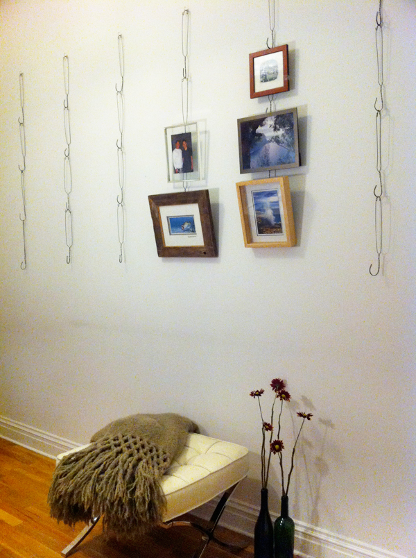 Wire hanging system